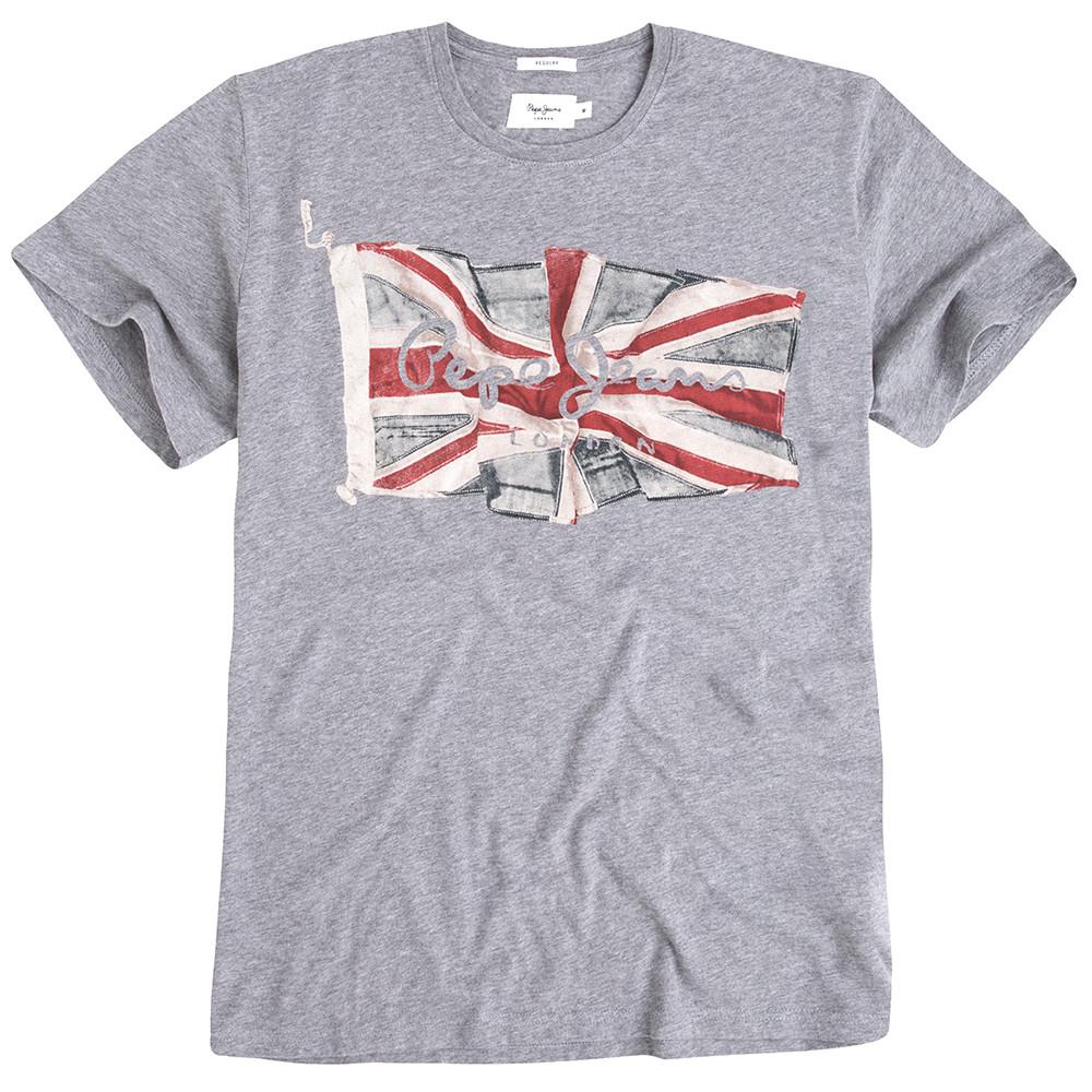 Flag Logo T-Shirt Mc Homme