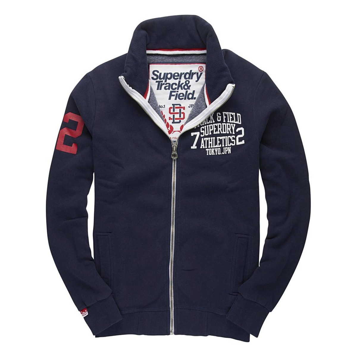 Trackster Track Sweat Zip Homme