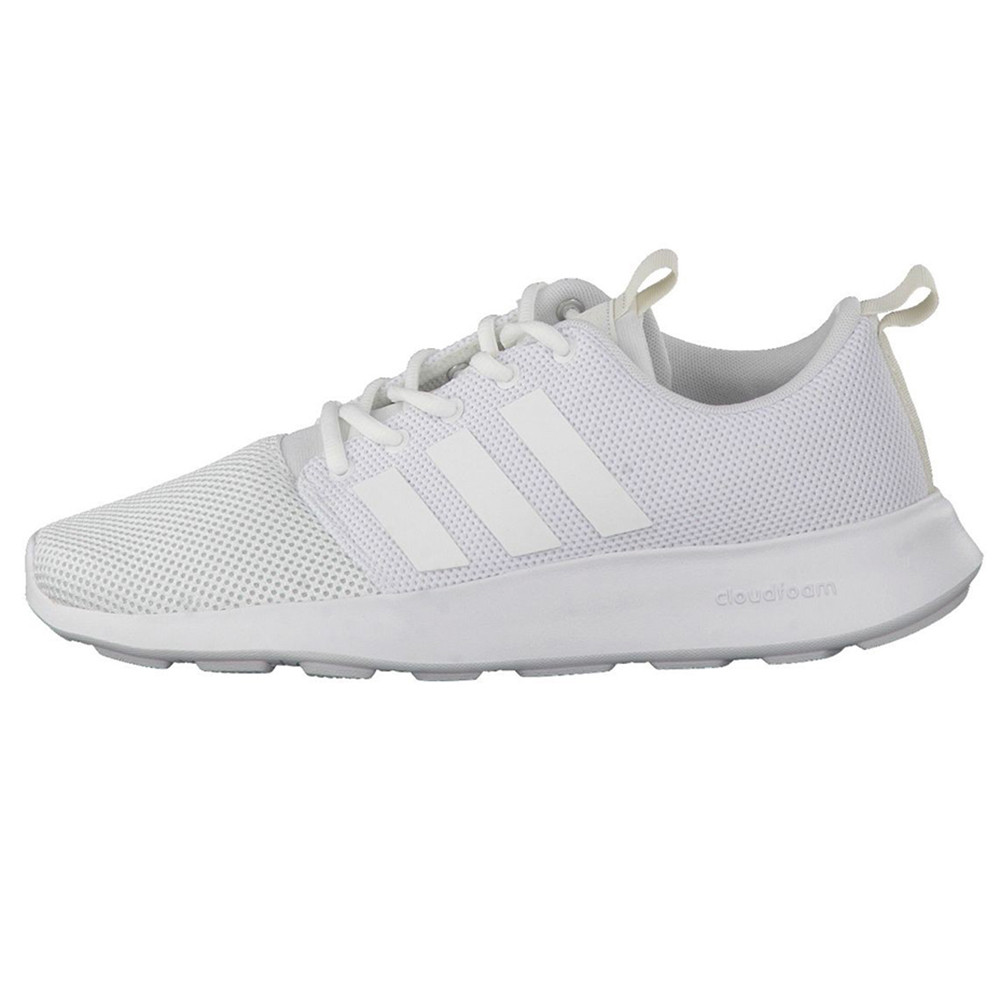 Cf Swift Racer Chaussure Homme ADIDAS BLANC pas cher