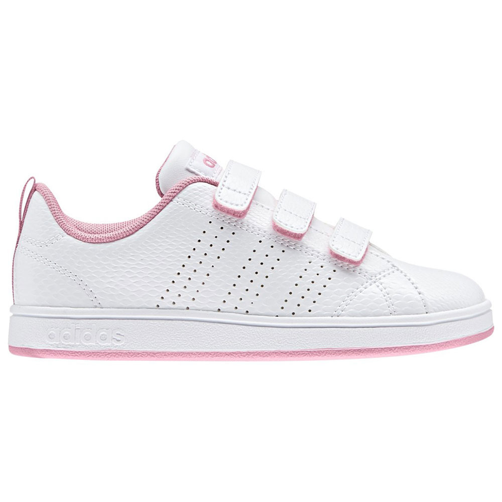 look out for wide varieties brand new Vs Advantage Clean Cmf Chaussure Enfant ADIDAS BLANC pas ...