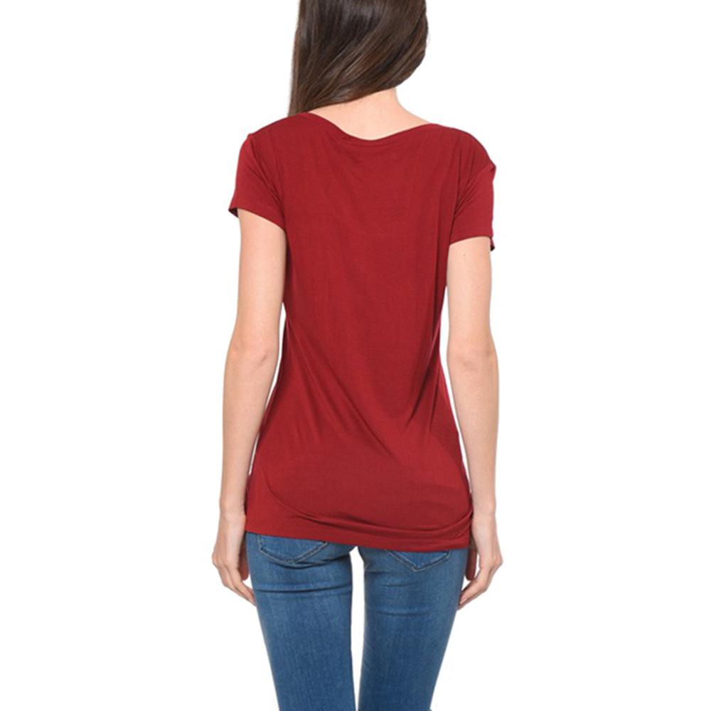 6a7f70ed3b3 Tirex T-Shirt Mc Femme KAPORAL ROUGE pas cher - T-shirts à manches ...