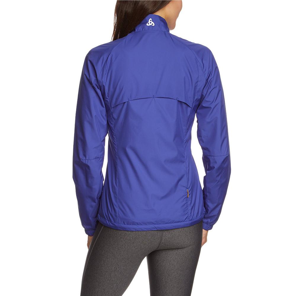 Timer Coupe Vent Femme ODLO BLEU pas cher - Vestes de running et trail ODLO discount