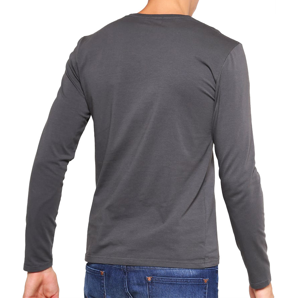 Original T-Shirt Ml Homme PEPE JEANS NOIR pas cher - T-shirt manches ... 0598da97b657