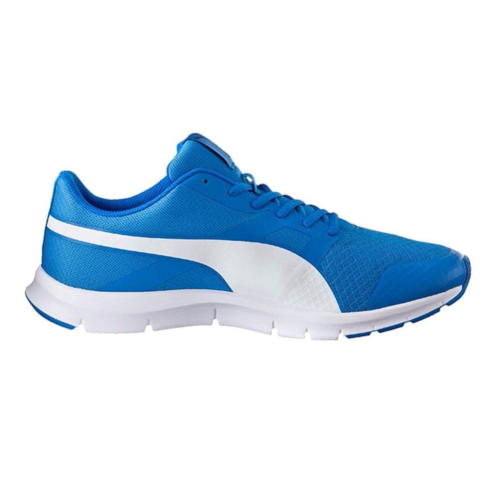 Bleu Baskets Chaussure Cher Pas Basses Puma Flexracer Homme P80wOnk