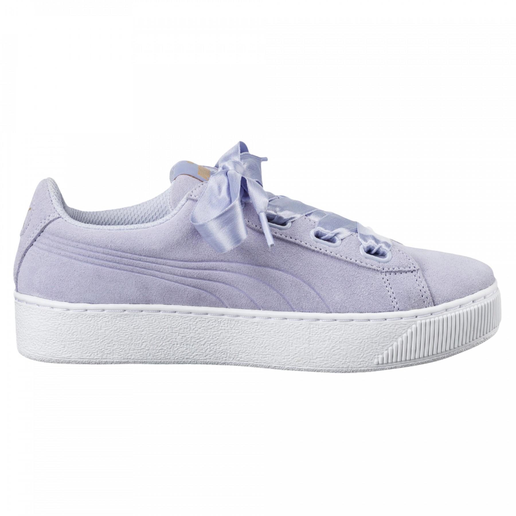 6abf150359e Bleu Pas Baskets Rib Cher Femme Chaussure Platform Vikky Puma BvqXXx