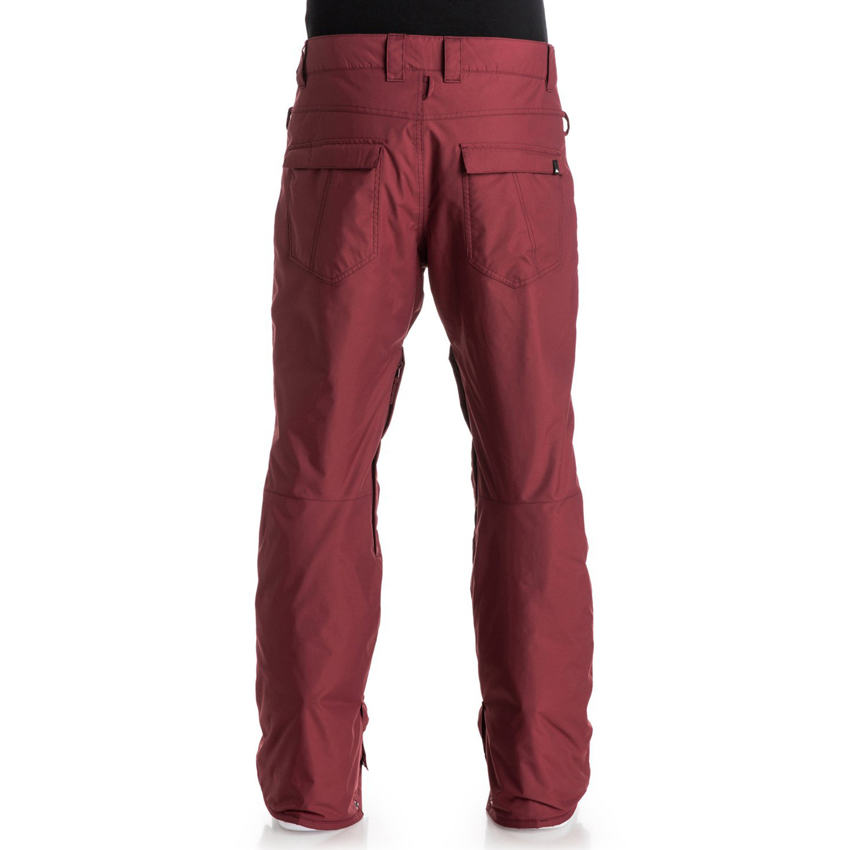c7572de8acdda Estate Pantalon Ski Homme QUIKSILVER ROUGE pas cher - Pantalons ski ...