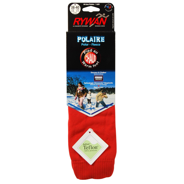 Polaire Chausettes Ski Unisexe