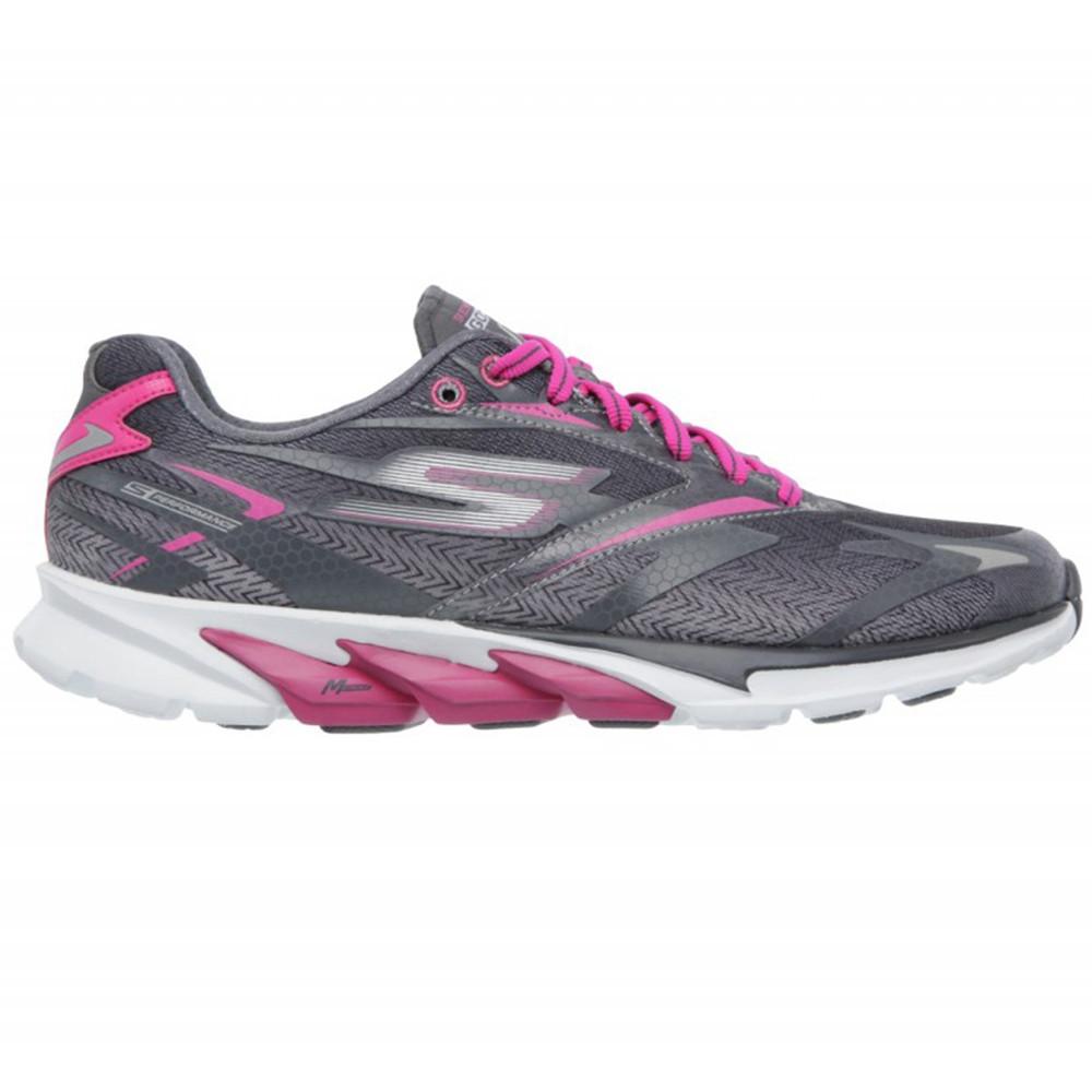 Go Run 4 Chaussure Femme SKECHERS GRIS pas cher Chaussures