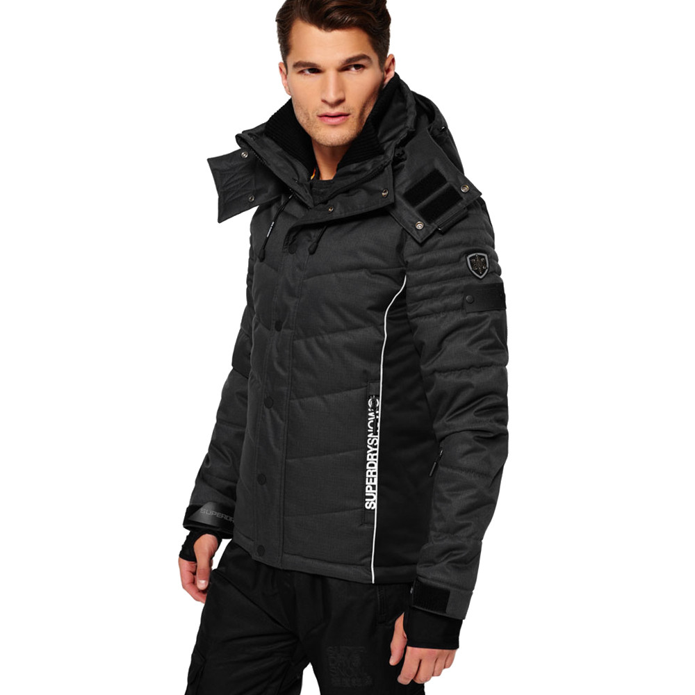 snow puffer blouson ski homme pas cher blousons ski et snowboard superdry discount. Black Bedroom Furniture Sets. Home Design Ideas