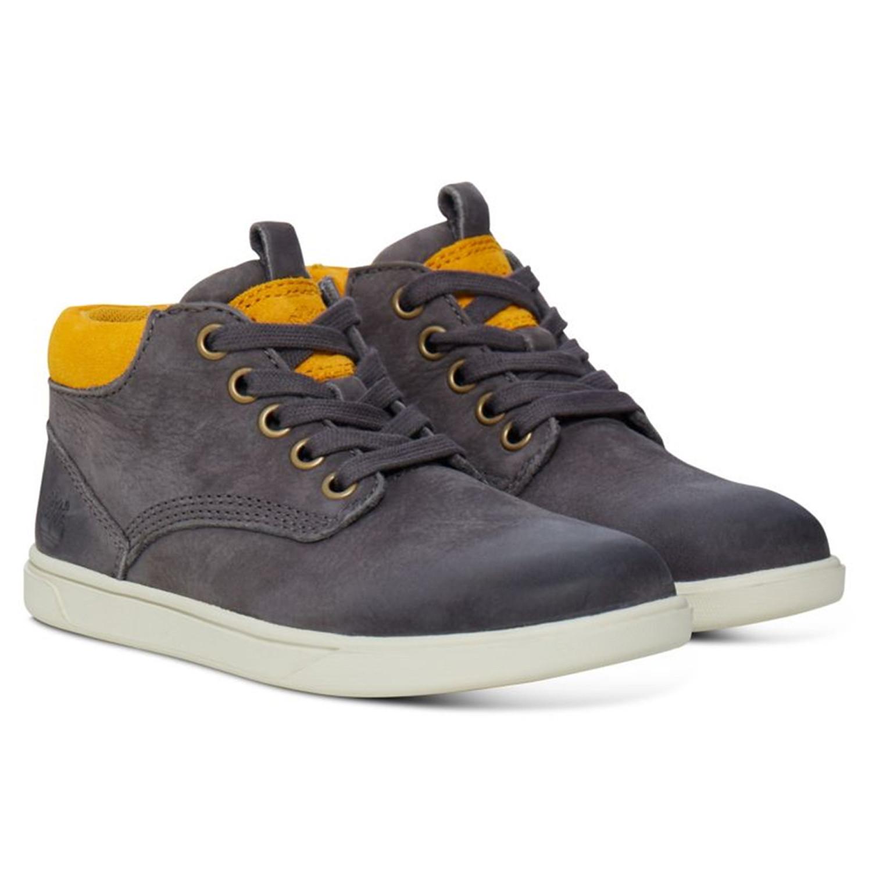 groveton leather chukka chaussure garcon timberland gris. Black Bedroom Furniture Sets. Home Design Ideas