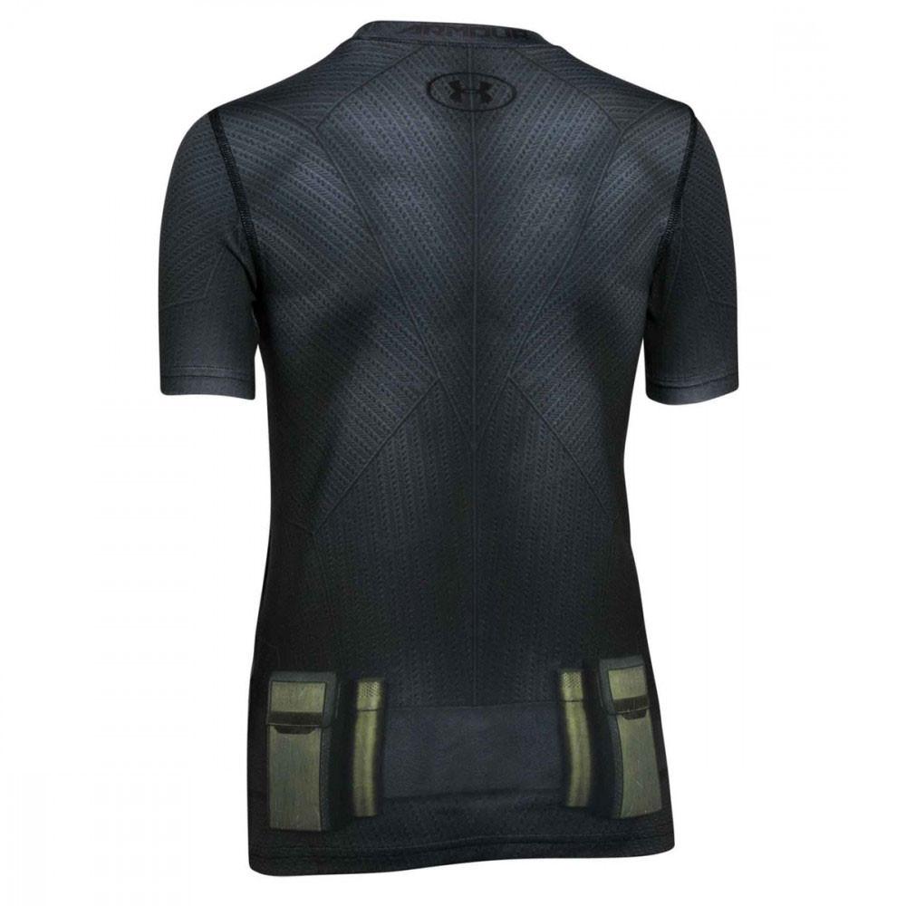 Batman Suit T-Shirt Mc Compression Garcon