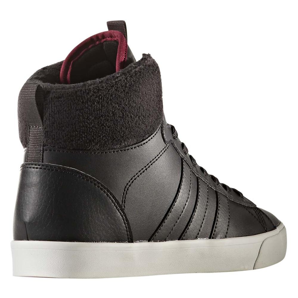 Cf Daily Qt Chaussure Femme ADIDAS NOIR pas cher Baskets