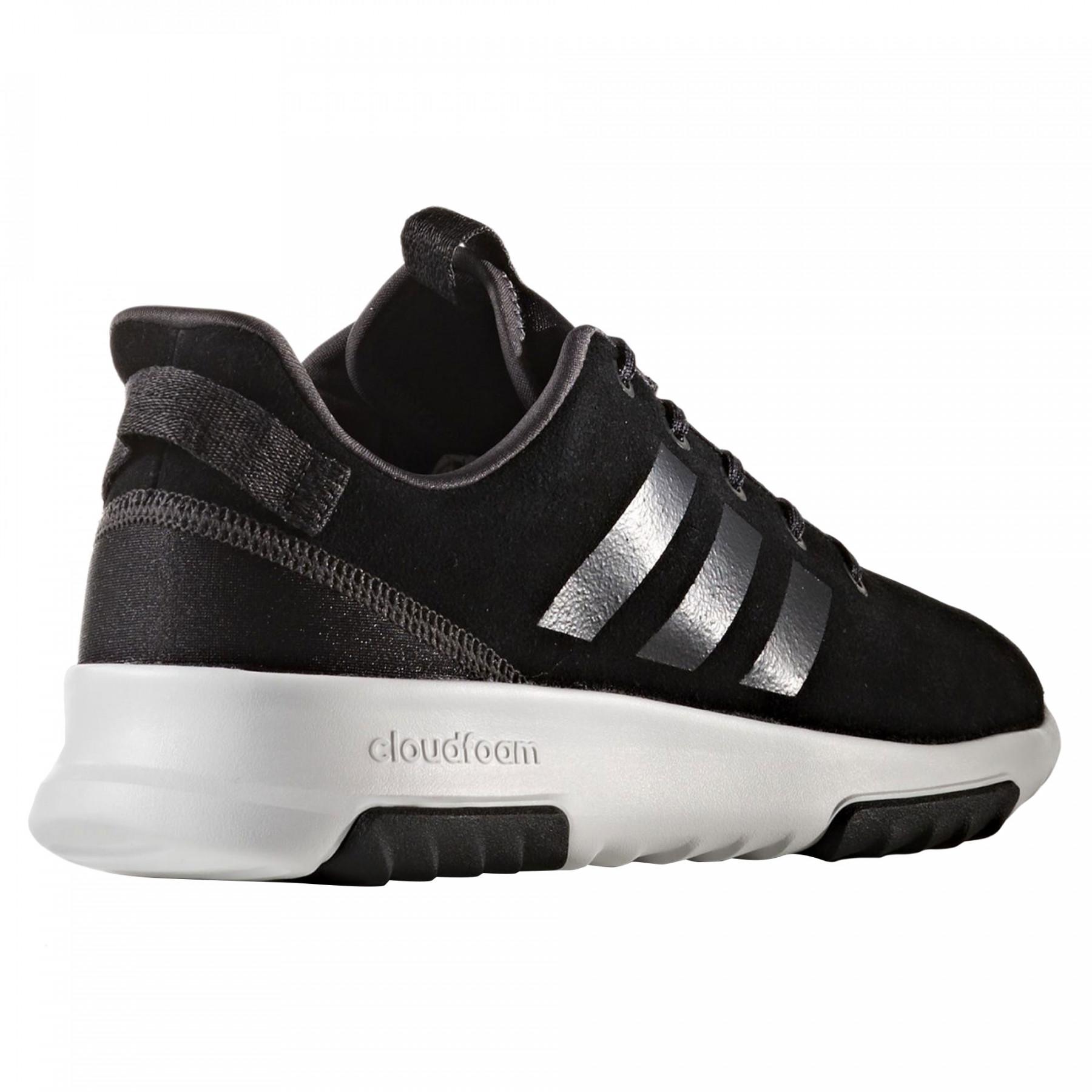 Baskets Basses Cher Racer Noir Femme Cf Adidas Chaussure Trw Pas FKcJlT13