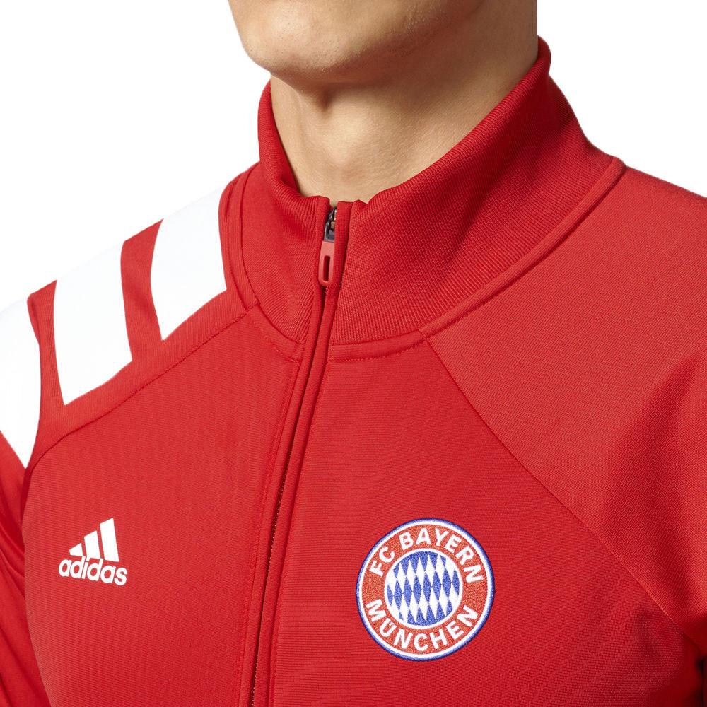 Football Veste Cher De Pas Rouge Adidas Vestes Fcb Track Homme 5aqzq