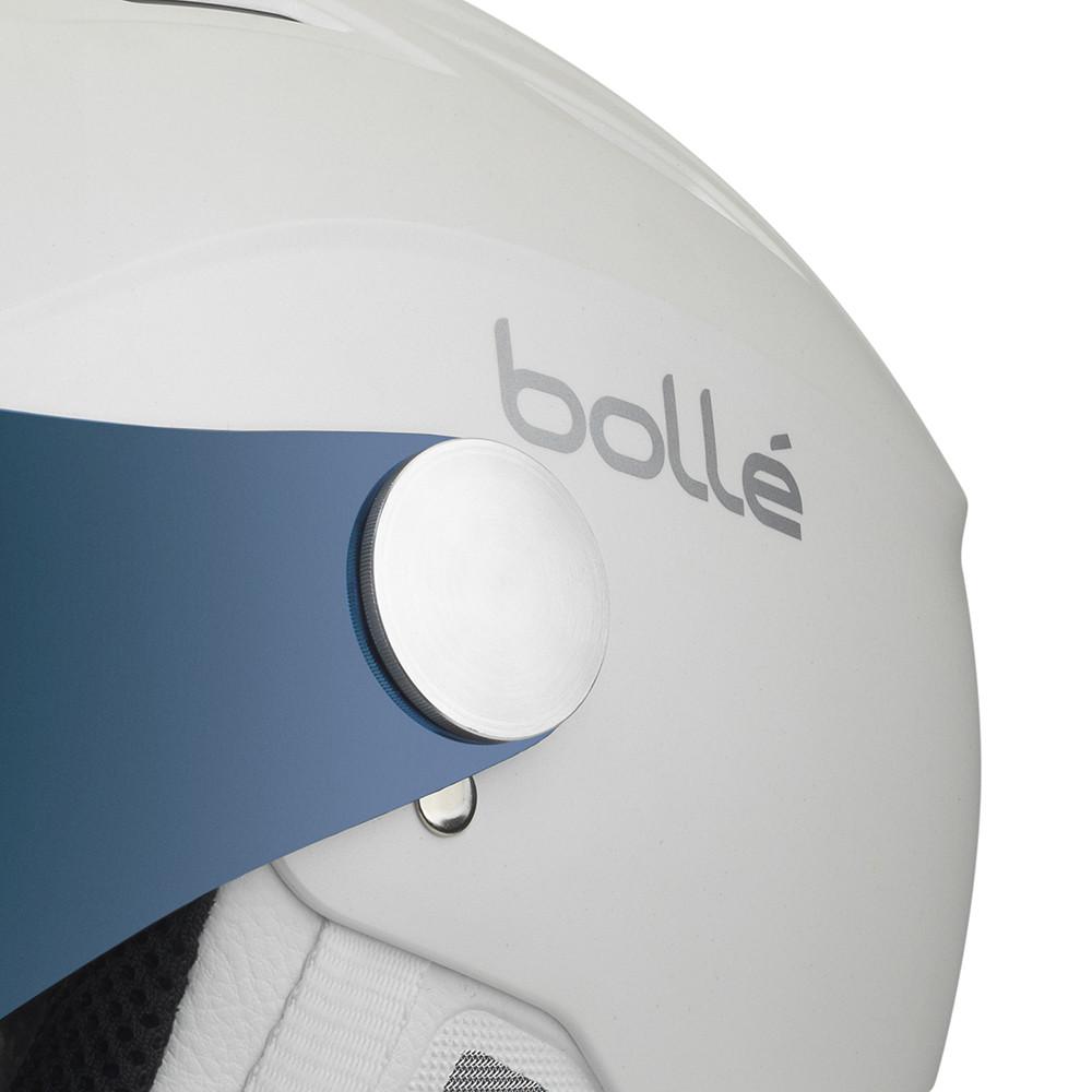 ad74ad19 Backline Visor Premium Casque Ski Unisexe BOLLE BLANC pas cher ...
