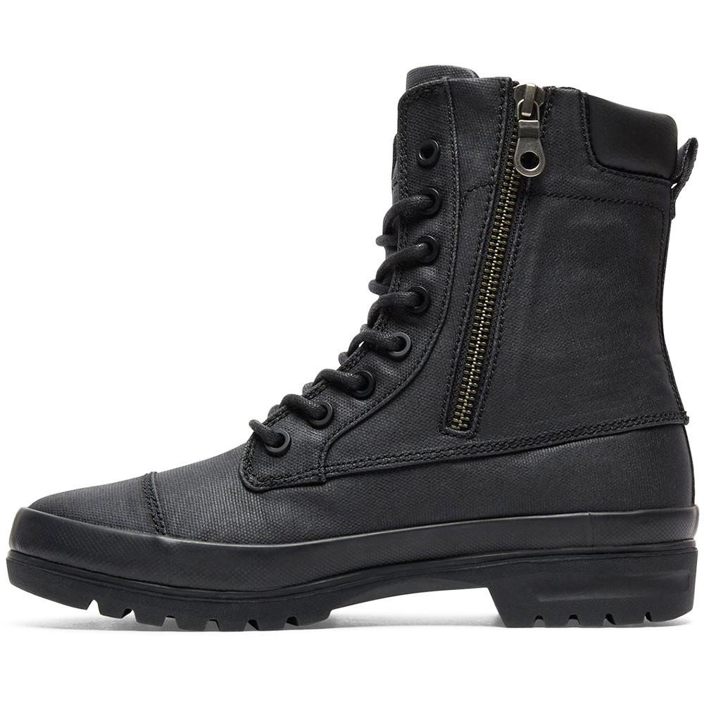 Amnesti Cher Femme Noir Dc Shoes Bottes Tx Pas OP08nwk
