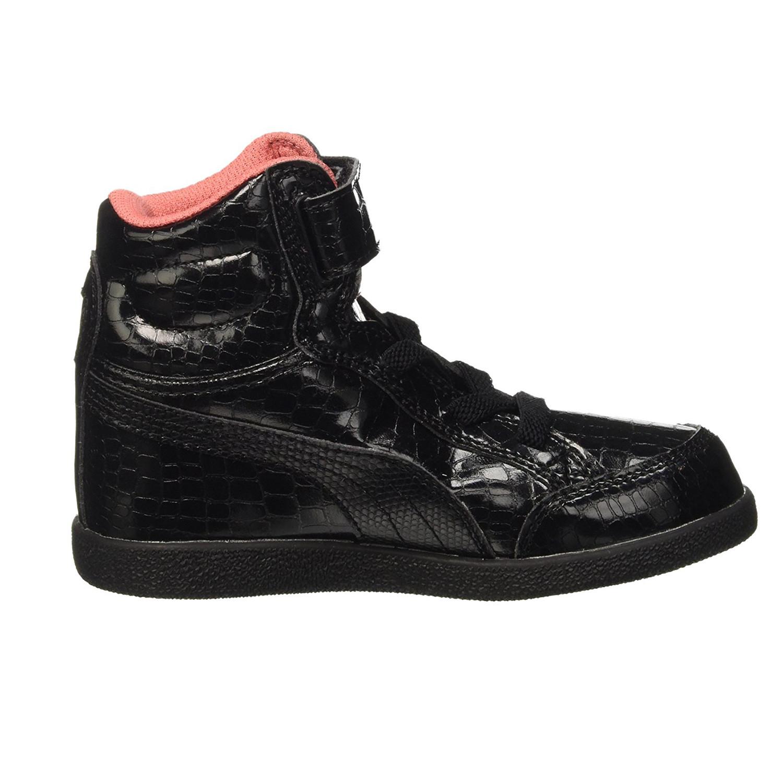 Ps Montantes Puma Ikaz Chaussure Pas Cher Baskets Fille Noir Ybf6v7gy