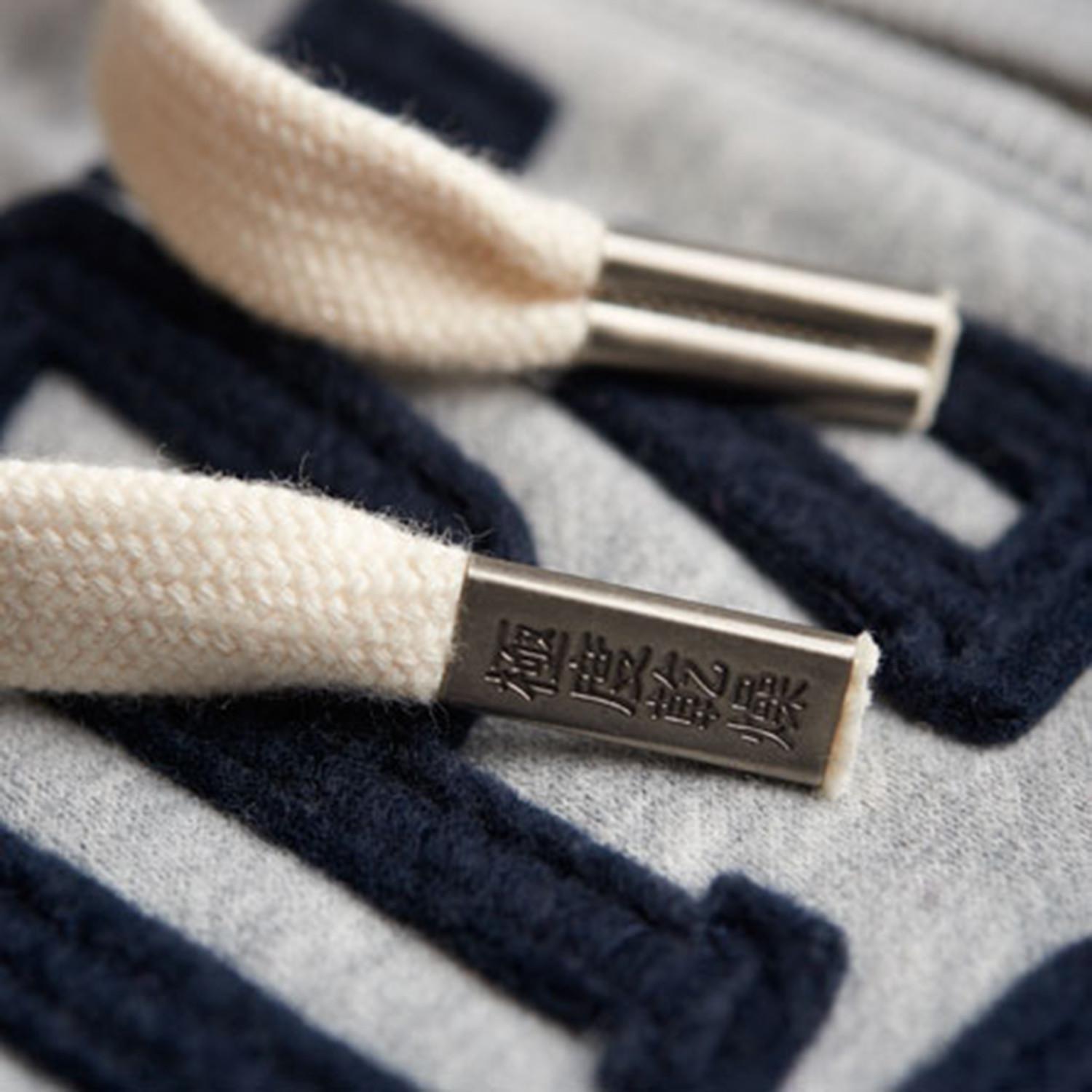 Core Applique Sweat Zip Homme