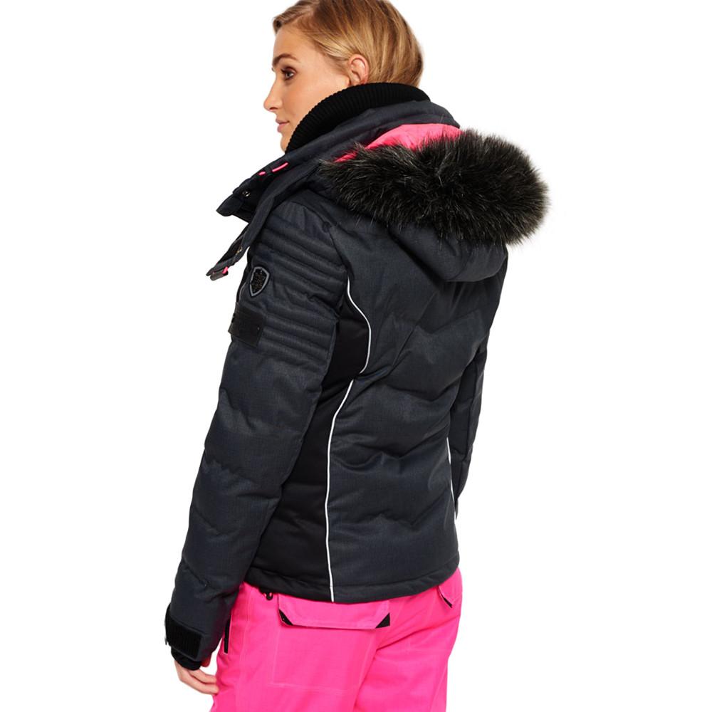 snow puffer blouson ski femme pas cher blousons ski et. Black Bedroom Furniture Sets. Home Design Ideas