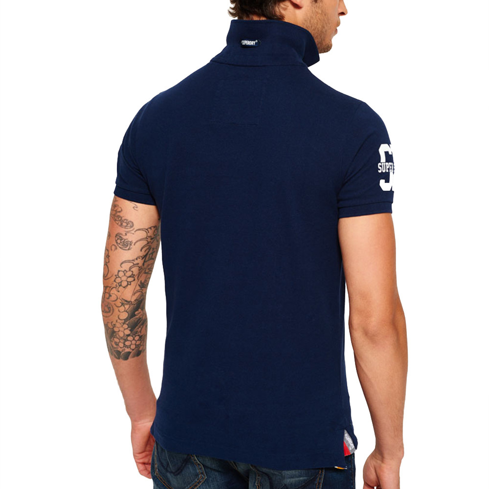 Super State S/s Pique Polo Mc Homme
