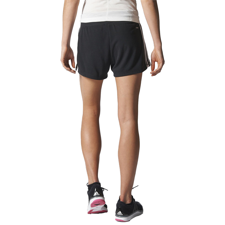 Ess 3S Short Femme ADIDAS NOIR pas cher Shorts de sport