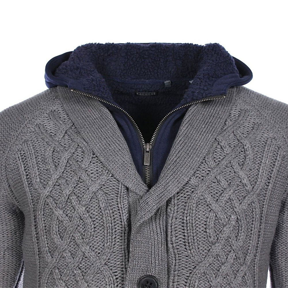 Nerom Gilet Capuche Homme