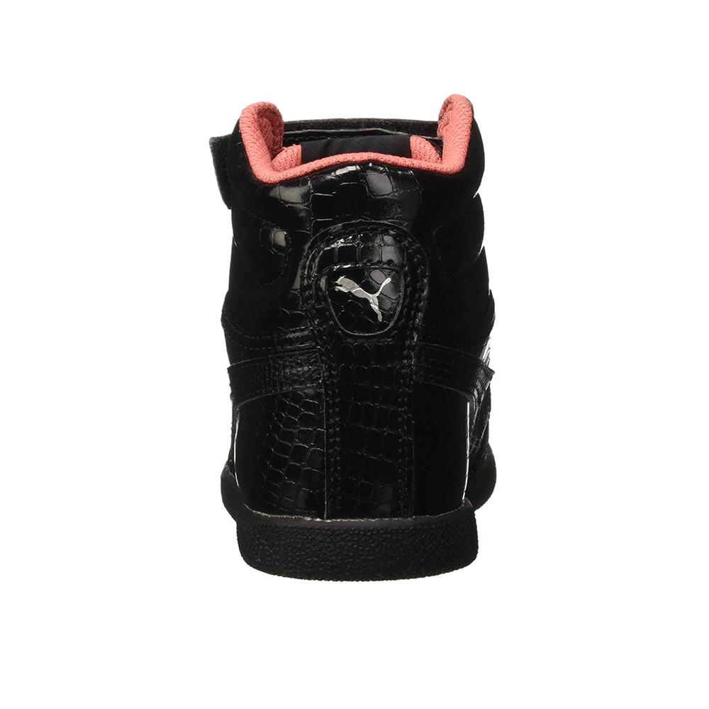 basket montante noir puma