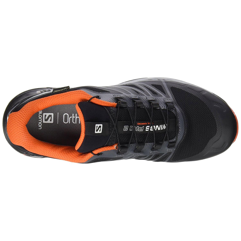 2141e8ea83f Wings Pro 2 Gtx Chaussure Trail Homme SALOMON NOIR pas cher ...
