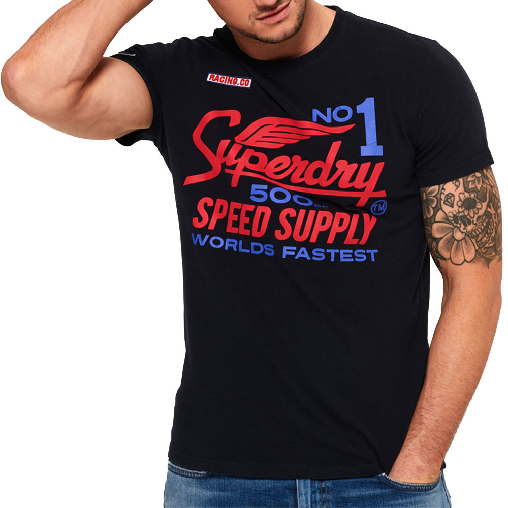 500Cc Moto T-Shirt Mc Homme