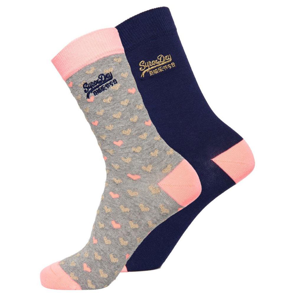 All Over Sparkle Socks Pack 2 Chaussettes Femme