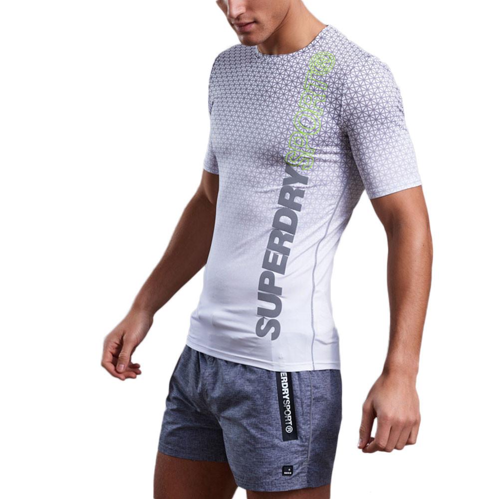 Athletic Aop T-Shirt Mc Homme