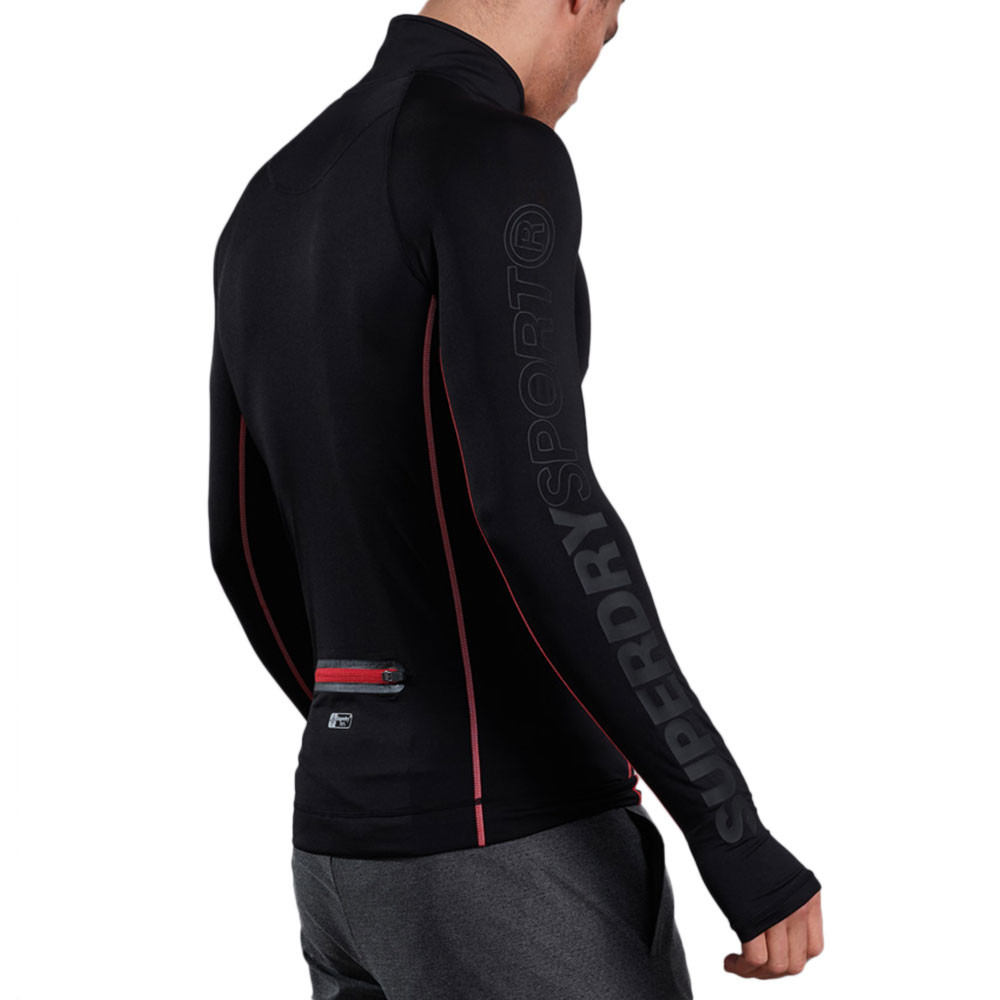 Athletic Henley Sweat Homme