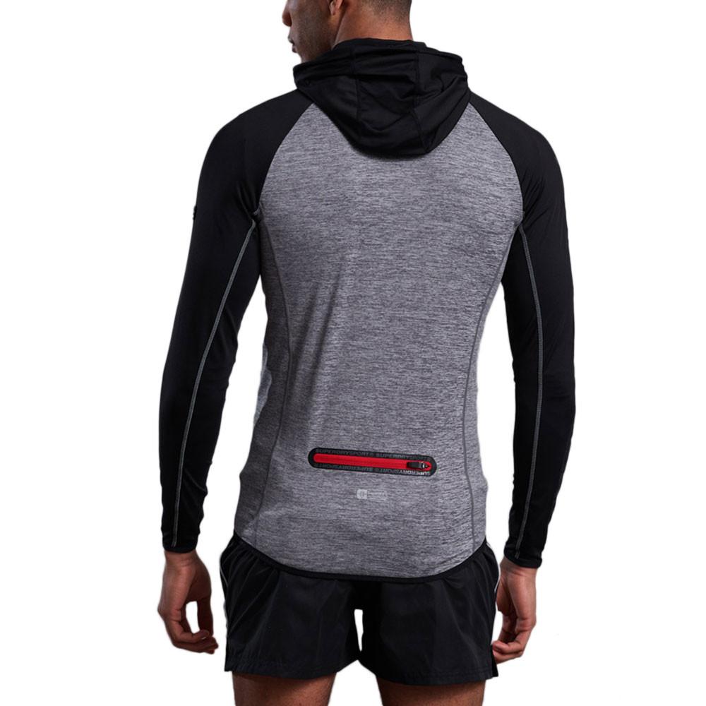 Athletic Raglan Sweat Zip Homme
