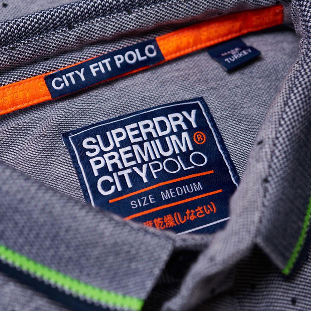 City Jacquard Aop S/s Polo Mc Homme