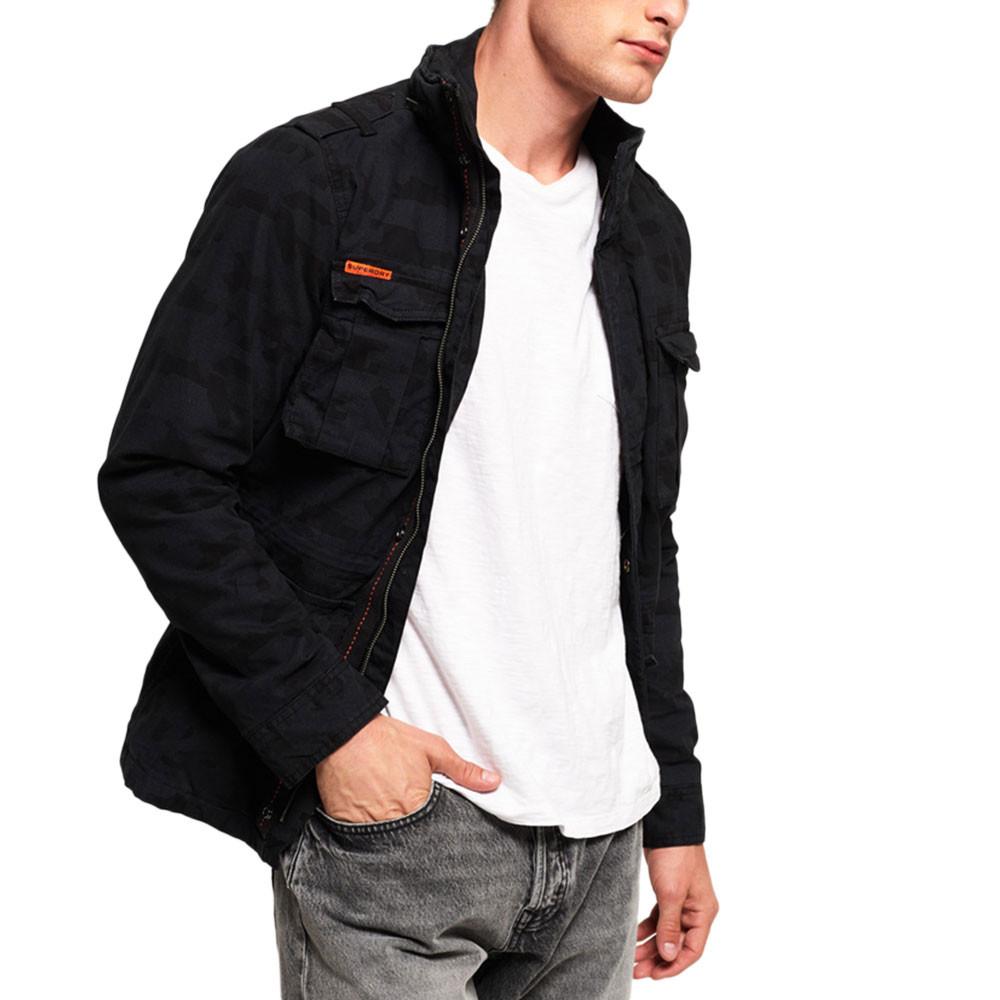 Classic Rookie Ilitary Jacket Veste Homme