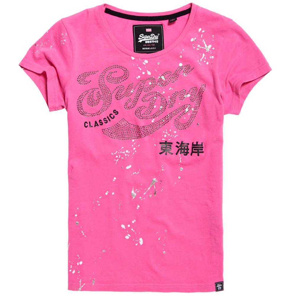 Classic Script Entry T-Shirt Mc Femme