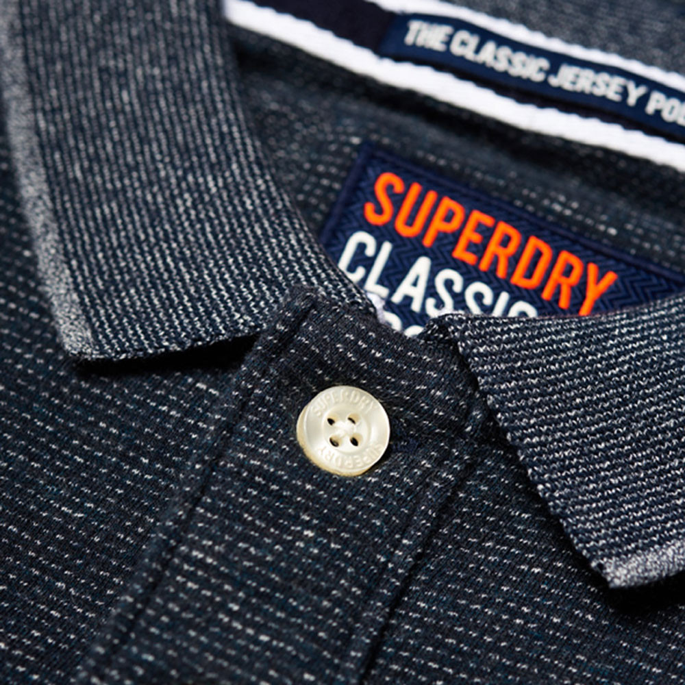 Classic S/s Jacq'd Jersey Polo Mc Homme