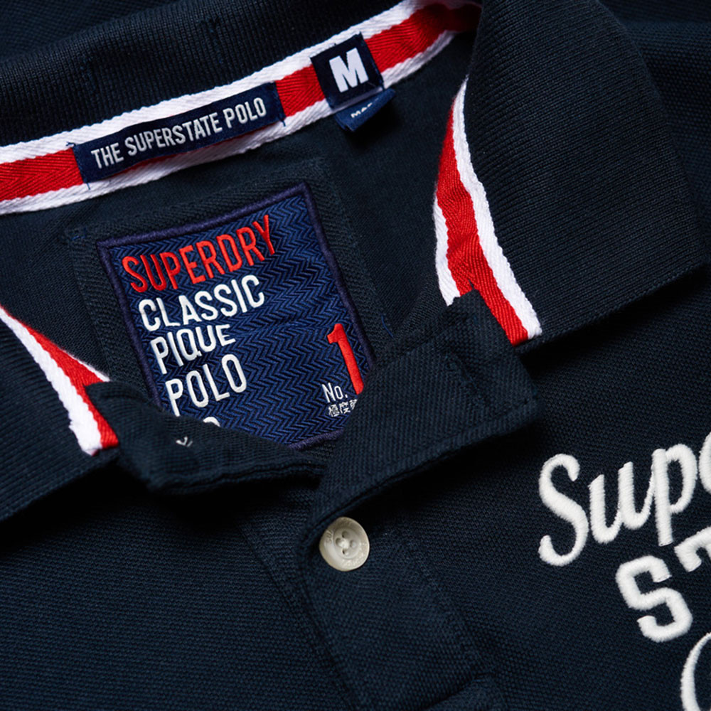 Classic S/s Superstate Polo Mc Homme