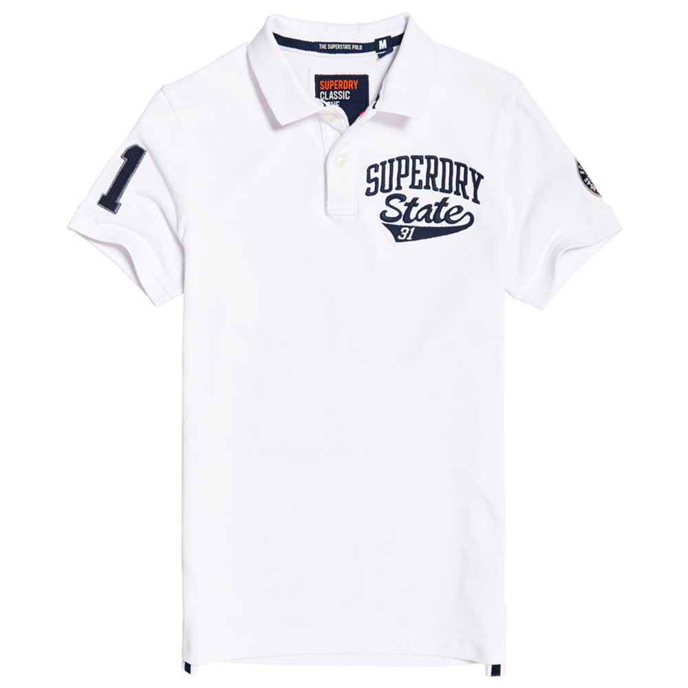 Classic Superstate S/s Polo Mc Homme