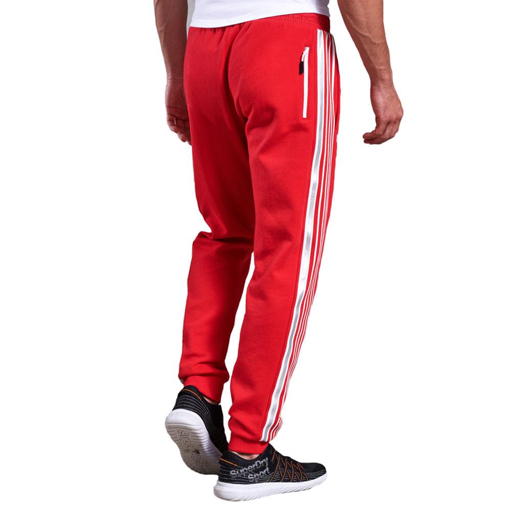 cobat sport pantalon de jogging homme superdry rouge pas. Black Bedroom Furniture Sets. Home Design Ideas