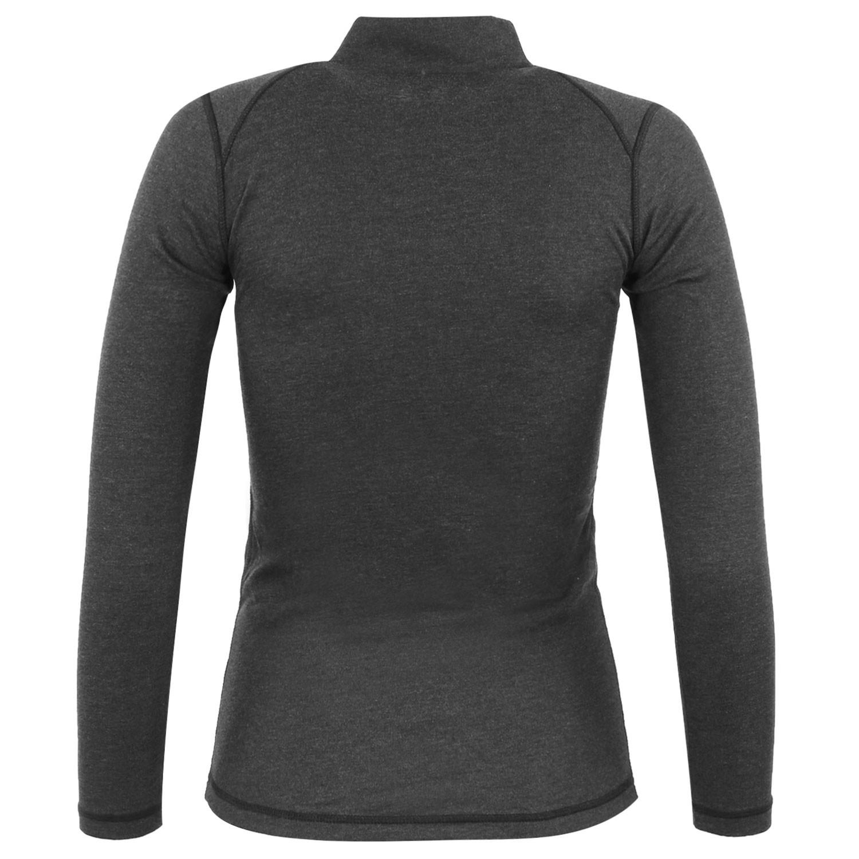 Comfort Z T-Shirt Ml 1/2 Zip Technique Femme