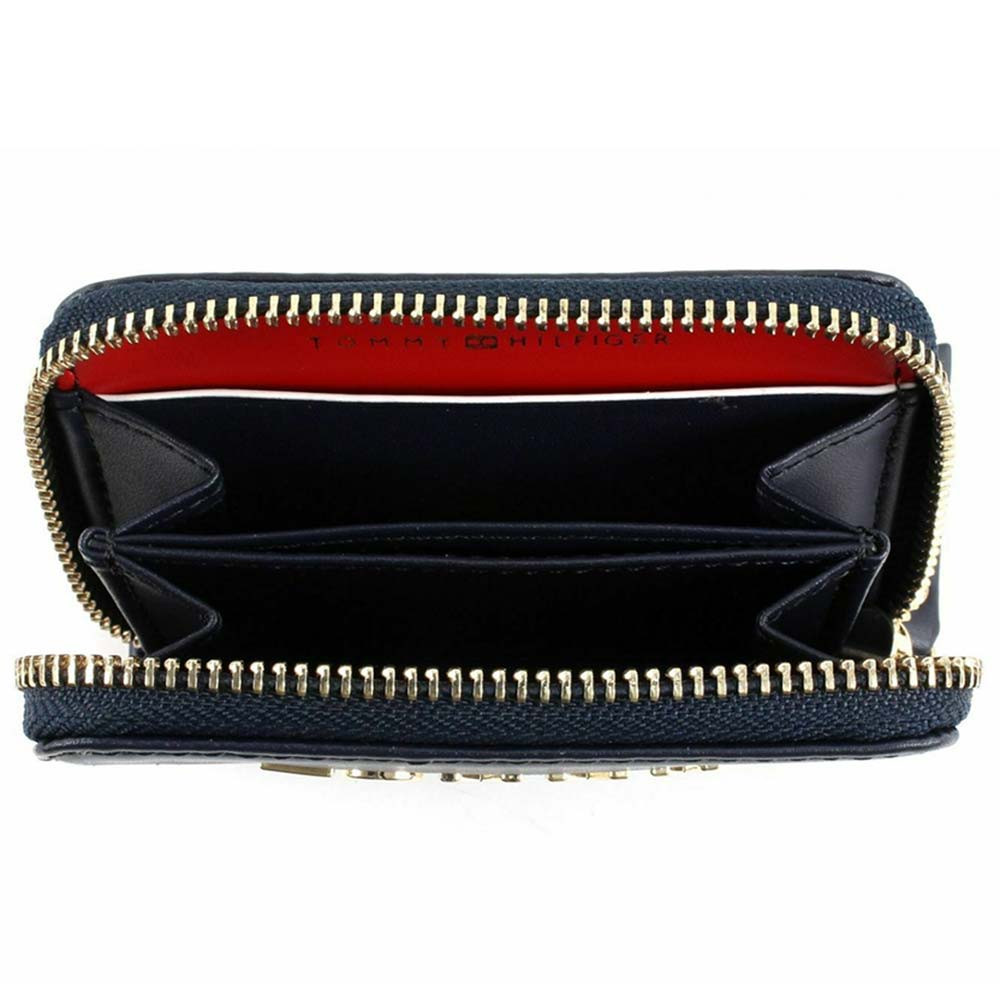 Corp Leather Mini Portefeuille Femme