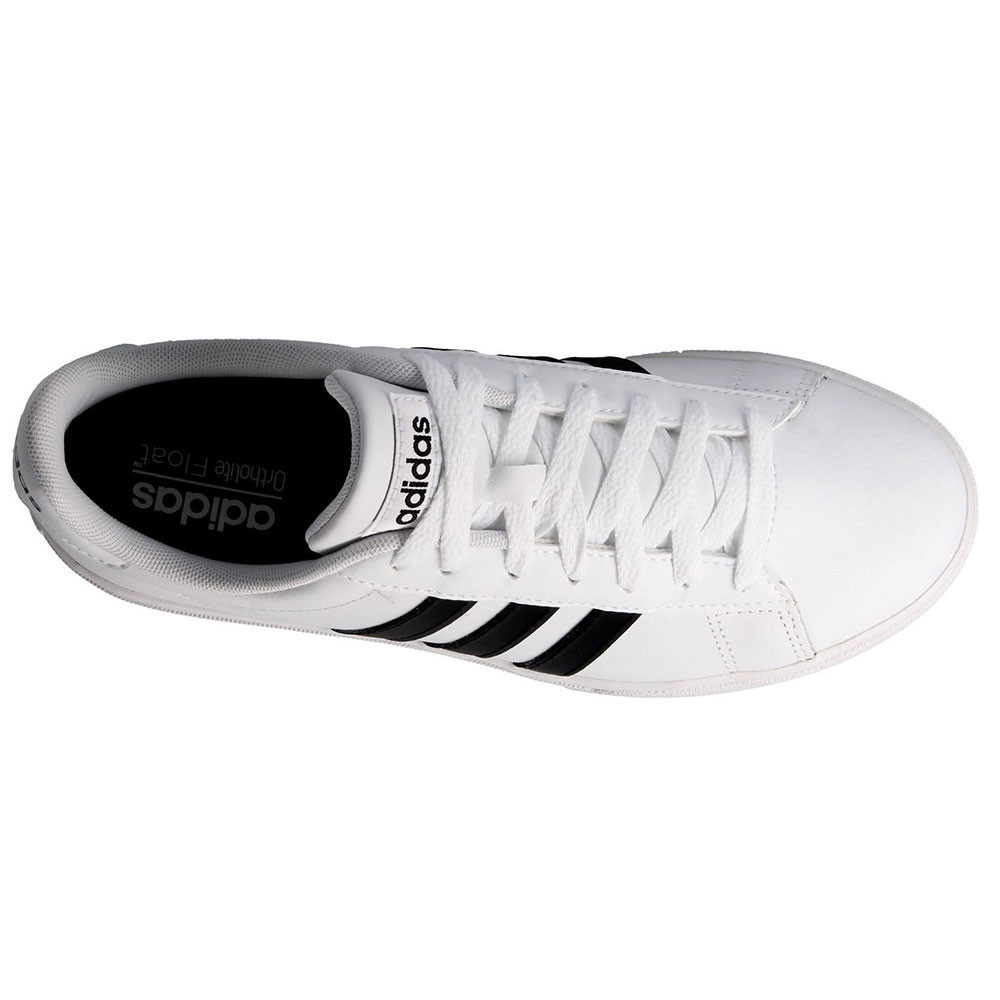 Homme Baskets 2 Basses Daily Chaussure Pas Cher 0 Adidas Blanc gyf7Yb6