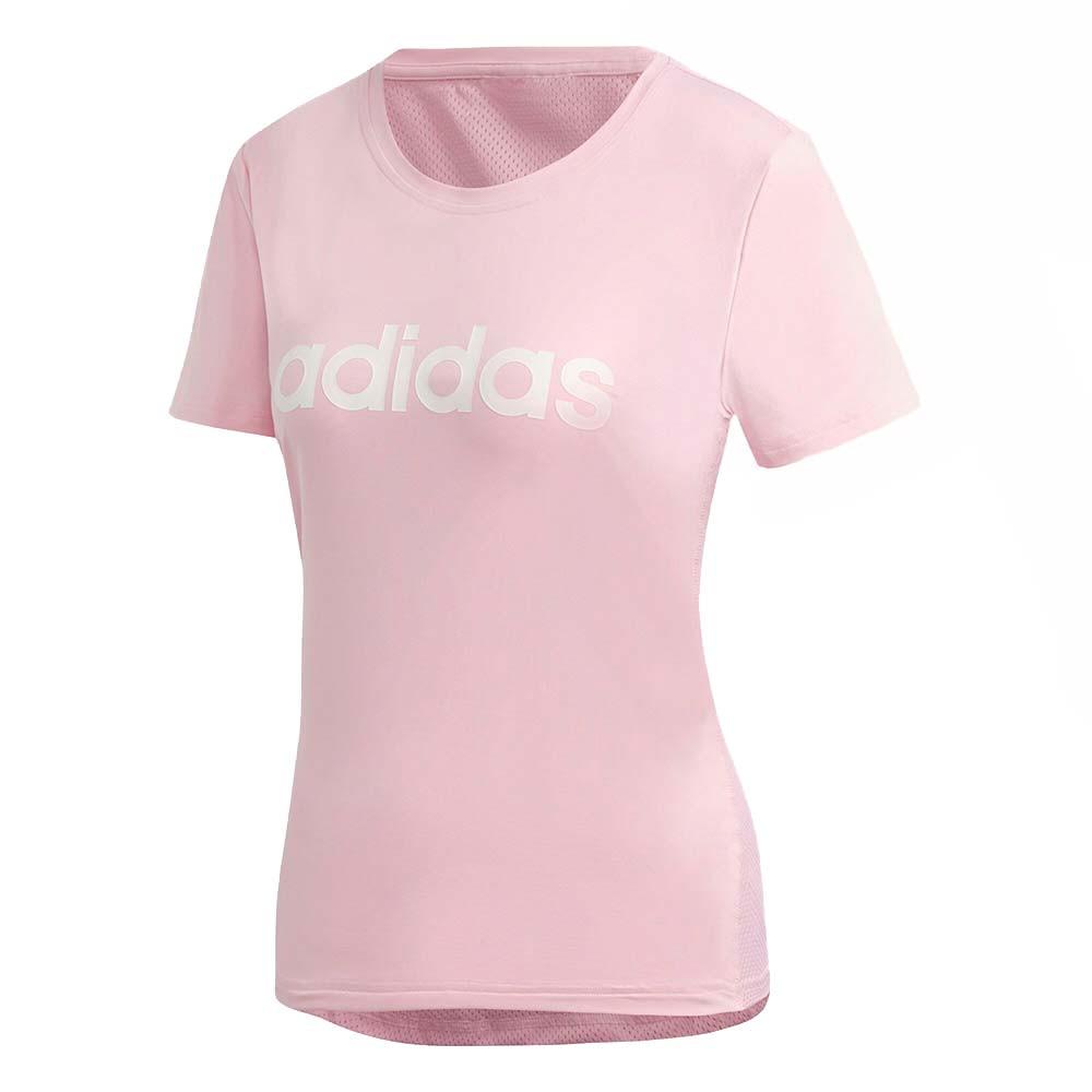 Design 2 Move Logo T-Shirt Mc Femme
