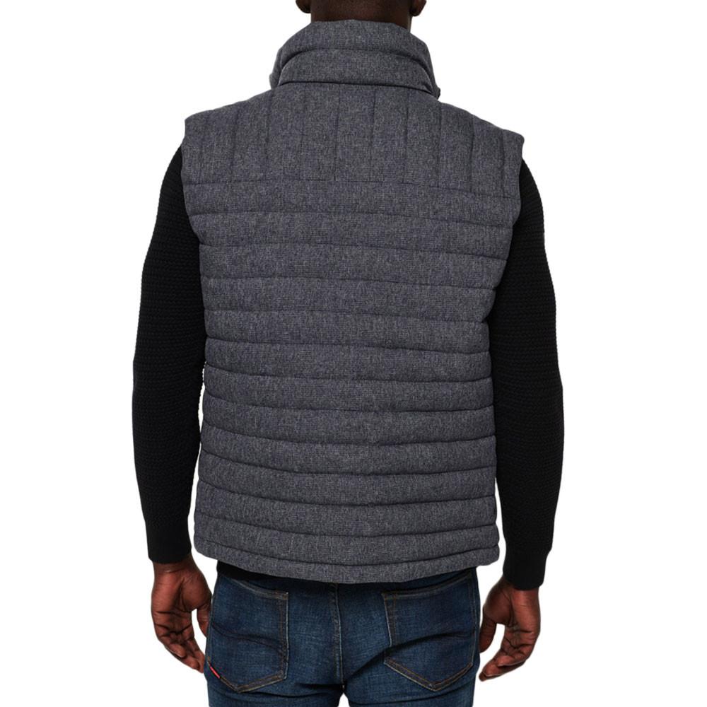 Double Zip Tweed Fuji Doudoune Sm Homme