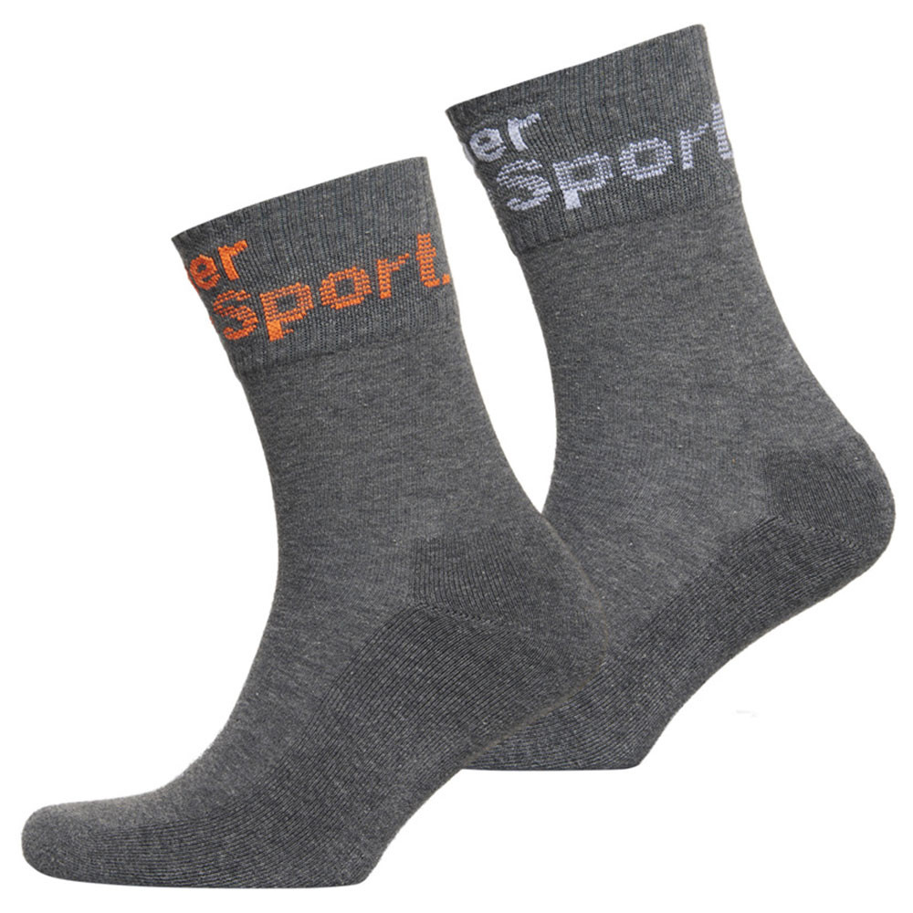 Dry Mid-Sock Pack 2 Chaussettes Homme