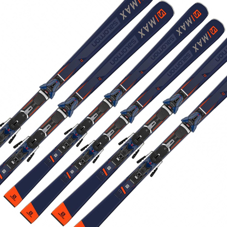 E S/max 12 Ski+Z11 Walk L80 Fixations Homme