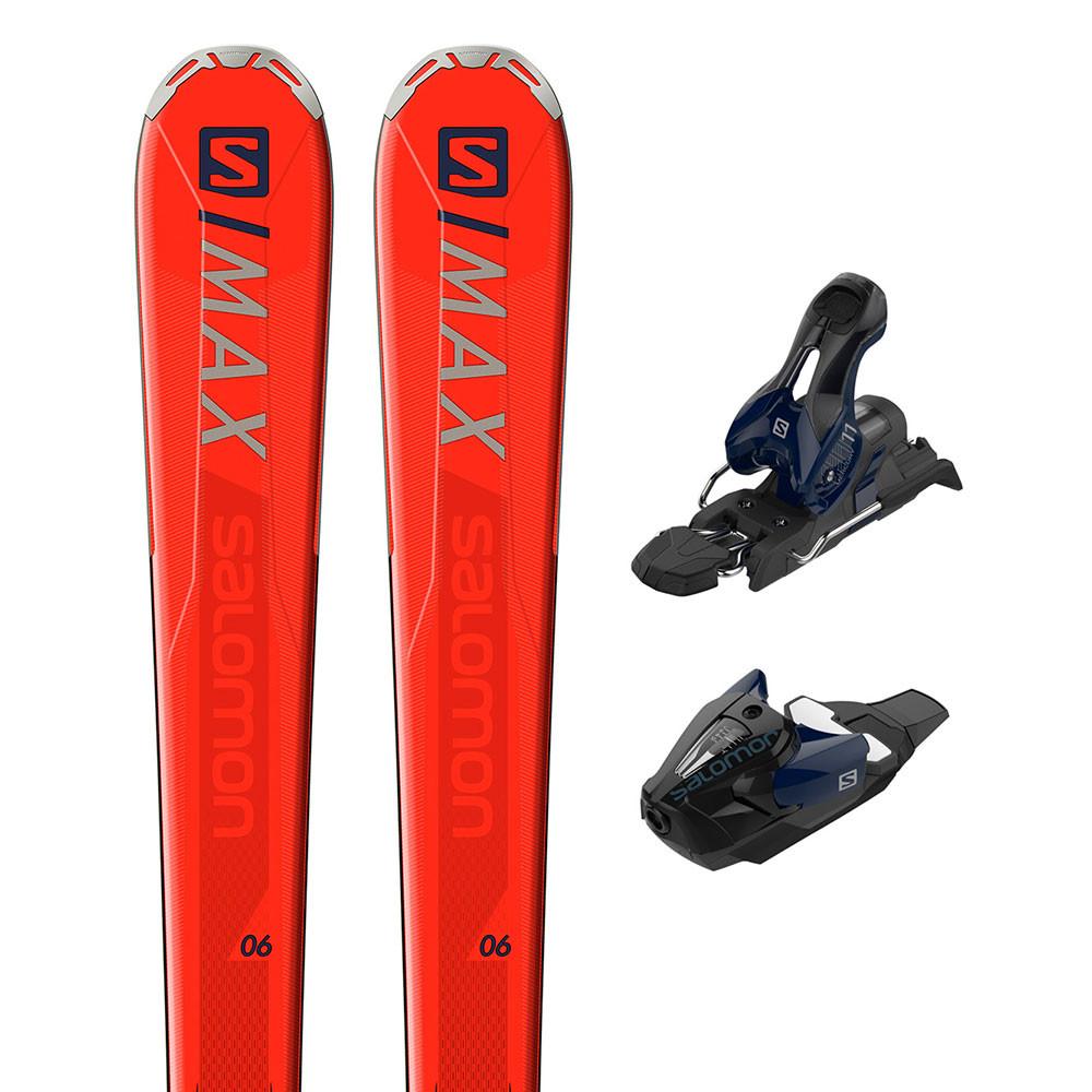 E S/max 6 Ski+ Mercury 11 L80 Fixations Homme