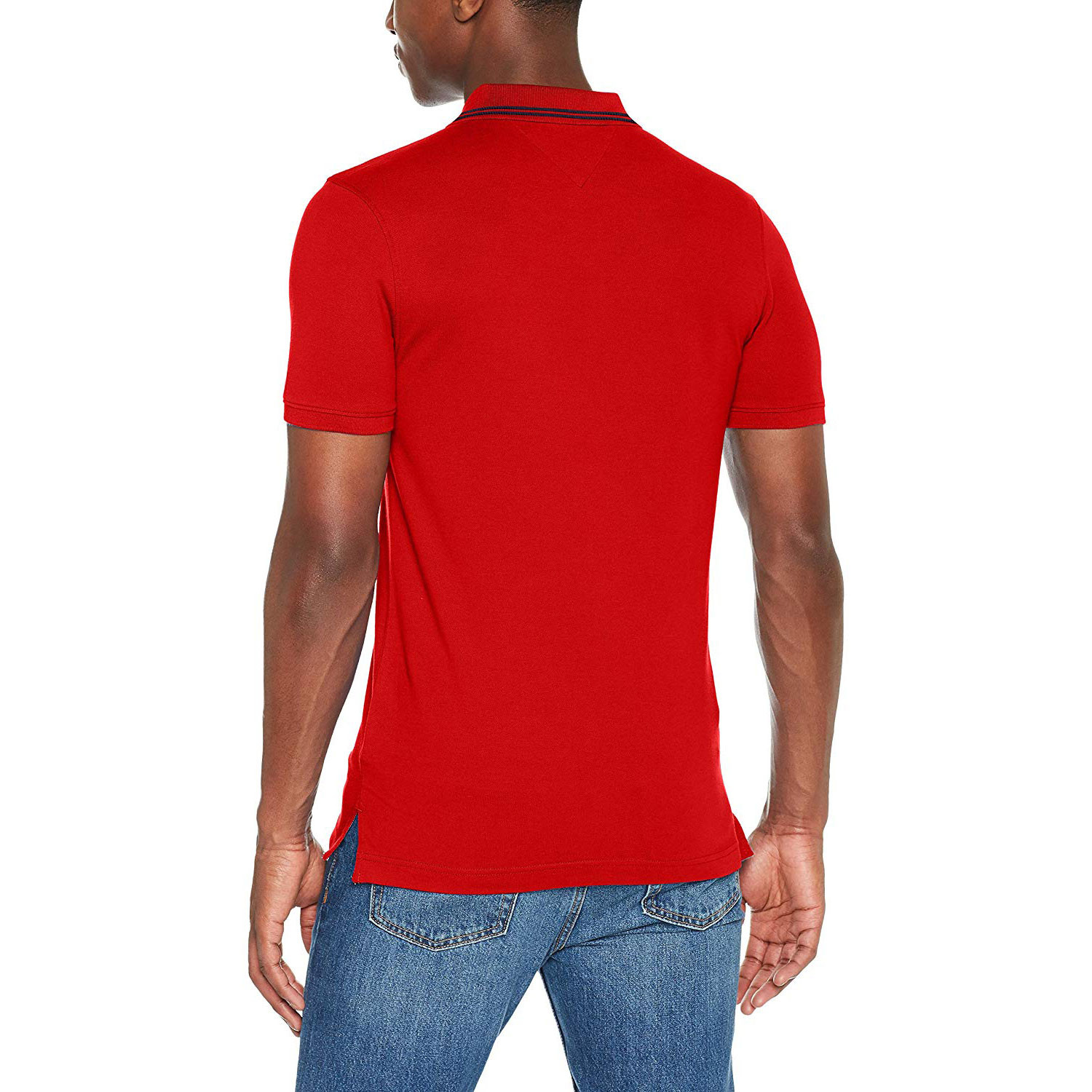 Tommy Hilfiger Men's Polo Essential Detail 683 RACING RED |