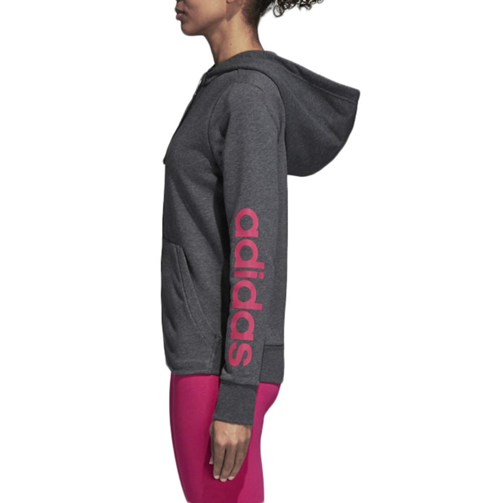 Essentials Linear Full Zip Sweat Zip Femme